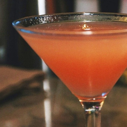The Coconut Guava Martini